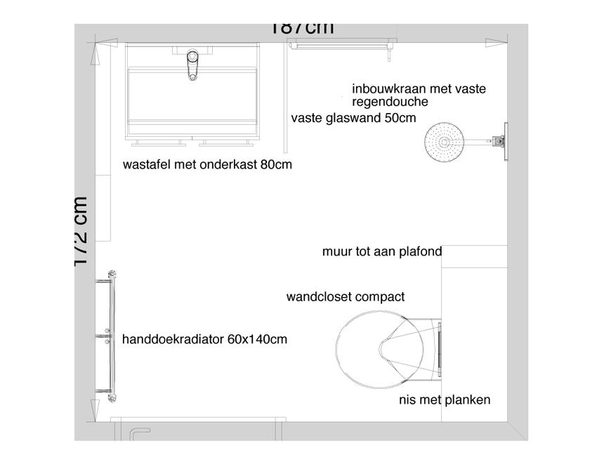 Badkamer Nis Schuifdeur ~ Badkamer Haarlem Verbouwing badkamer haarlem rvr klus amp onderhoud